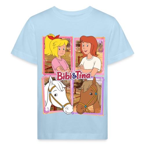 Bibi und Tina mit Amadeus und Sabrina - Kinder Bio-T-Shirt