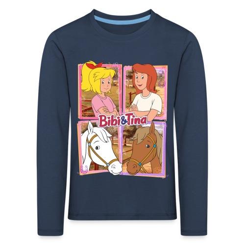 Bibi und Tina mit Amadeus und Sabrina - Kinder Premium Langarmshirt