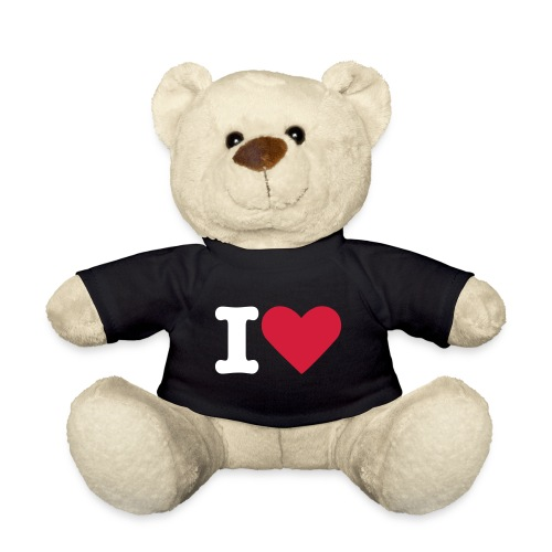 peluche i love - Orsetto