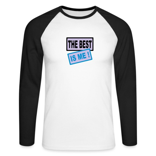 maglia the best is me! - Maglia da baseball a manica lunga da uomo