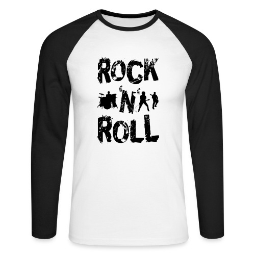 Camiseta rock´n´roll - Raglán manga larga hombre