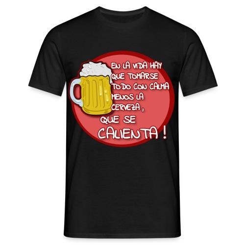 Reflexión cervecera - Men's T-Shirt