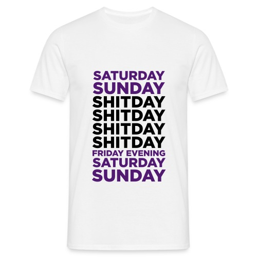 Saturday - Men's T-Shirt