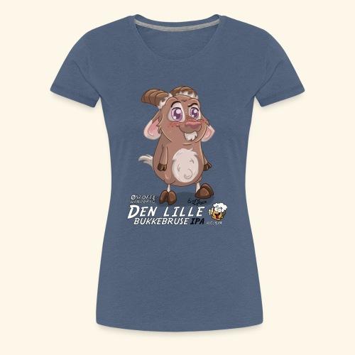 Den lille bukkebruse - Dame premium T-shirt