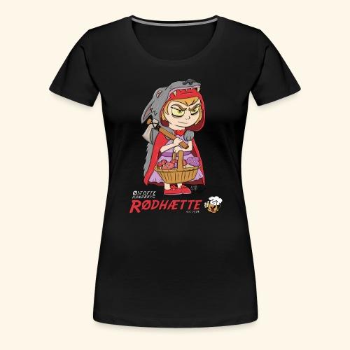 Rødhætte - Dame premium T-shirt