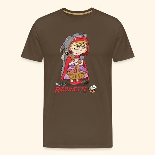 Rødhææte - Herre premium T-shirt