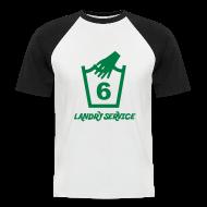 T-Shirts ~ Men's Baseball T-Shirt ~ Landry Service