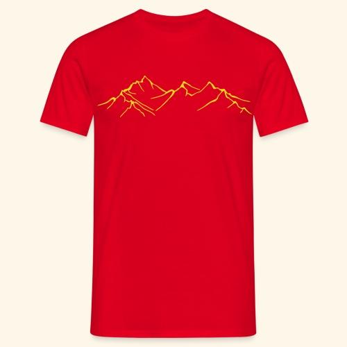 Berge - Männer T-Shirt
