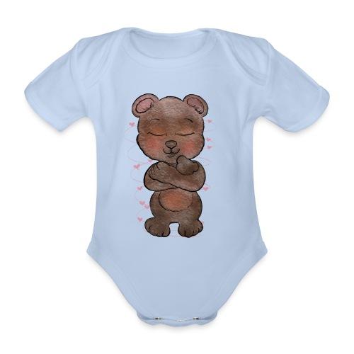 Mamabear body - Ekologisk kortärmad babybody