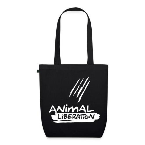 BIO-Stofftasche 'Animal Liberation' - Bio-Stoffbeutel