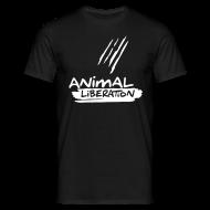 T-Shirts ~ Männer T-Shirt ~ Mens Basic-Shirt 'Animal Liberation'