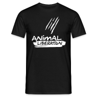T-Shirts ~ Männer T-Shirt ~ Mens Basic-Shirt 'Animal Liberation'