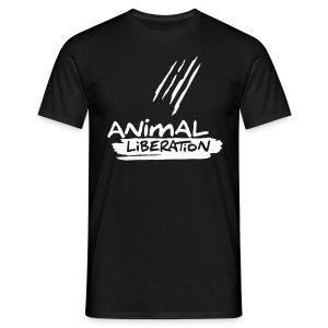 Mens Basic-Shirt 'Animal Liberation' - Männer T-Shirt