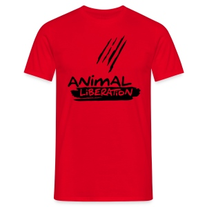 Mens Basic-Shirt 'Animal Liberation' BL - Männer T-Shirt