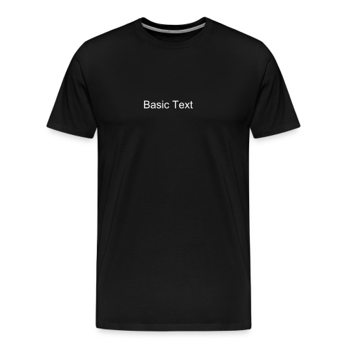Basic Product - Men's Premium T-Shirt