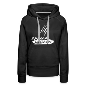 Womens Kapuzi 'Animal Liberation' - Frauen Premium Hoodie
