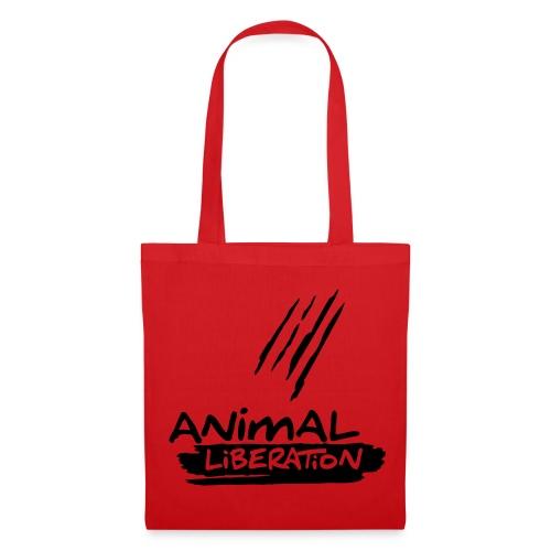Stofftasche 'Animal Liberation' BL - Stoffbeutel
