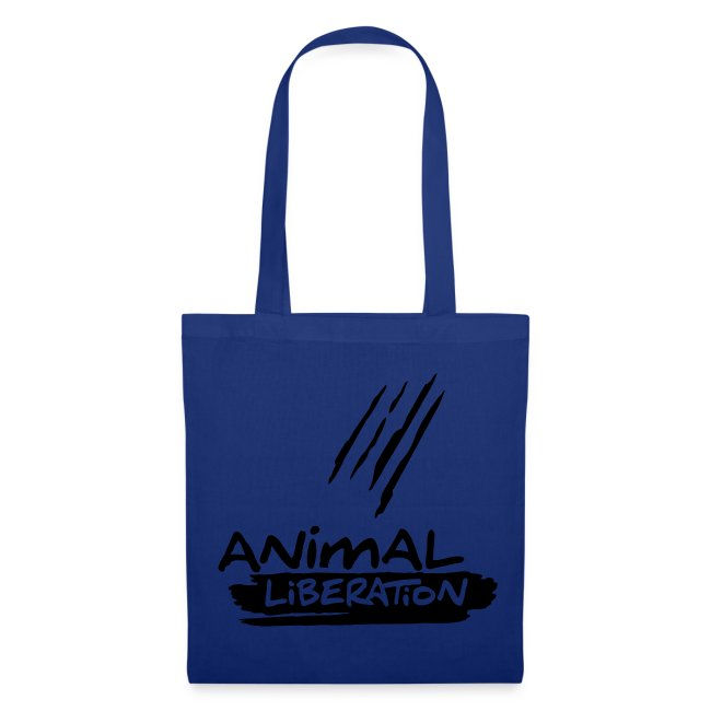 Stofftasche 'Animal Liberation' BL