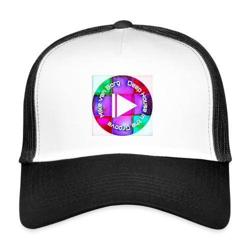 House Music Lover black/with cap - Trucker Cap