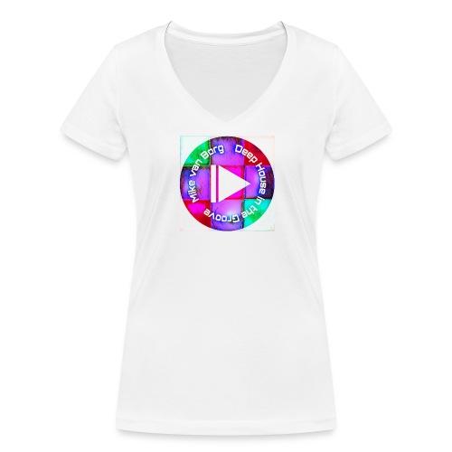 House Music Lover t-shirt - Frauen Bio-T-Shirt mit V-Ausschnitt von Stanley & Stella