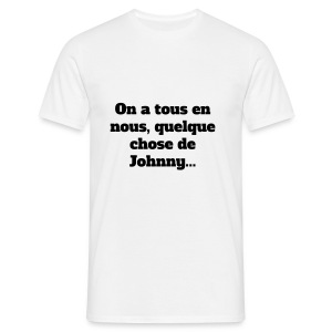 I love Johnny - T-shirt Homme