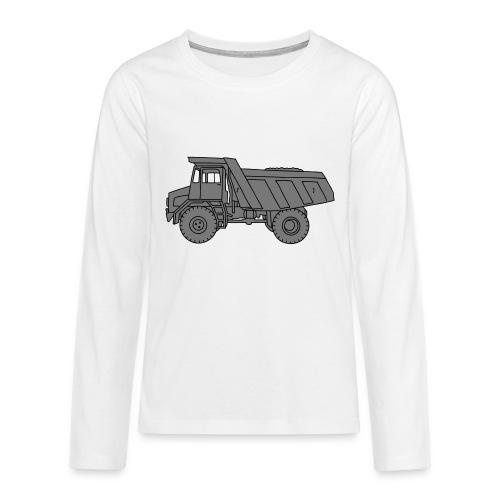 Muldenkipper Kipplaster 2 - Teenager Premium Langarmshirt