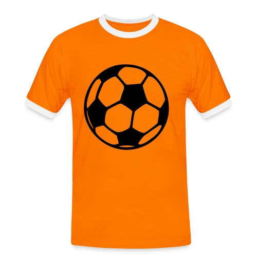 Oranje - Mannen contrastshirt