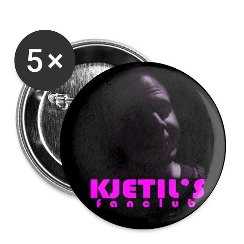 Kjetils buttons - Middels pin 32 mm (5-er pakke)