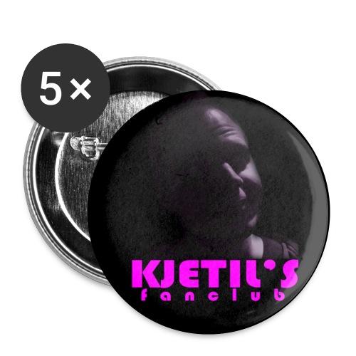Kjetils buttons liten - Liten pin 25 mm (5-er pakke)