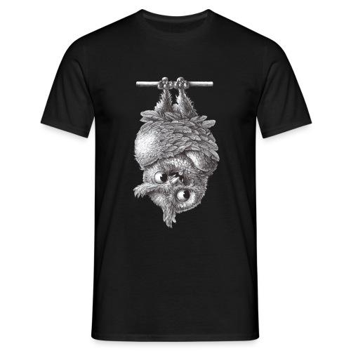 Vampireule - Männer T-Shirt