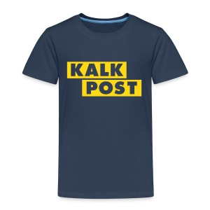 Kindershirt mit Kalk Post Balken - Kinder Premium T-Shirt