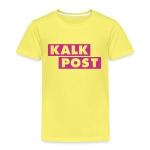 Kindershirt mit Kalk Post Balken - Kinder Premium T-Shirt