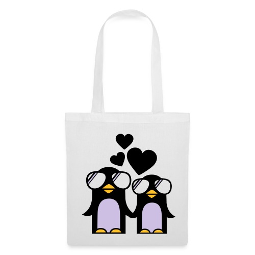 penguin bag - Borsa di stoffa