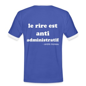 A.Moreau - citation - T-shirt contrasté Homme