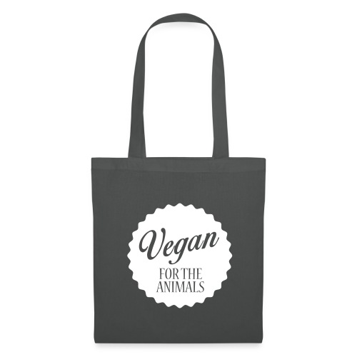 Vegan for the Animals - Tas - Tas van stof