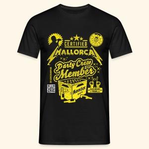 Mallorca Party Crew Member - Männer T-Shirt