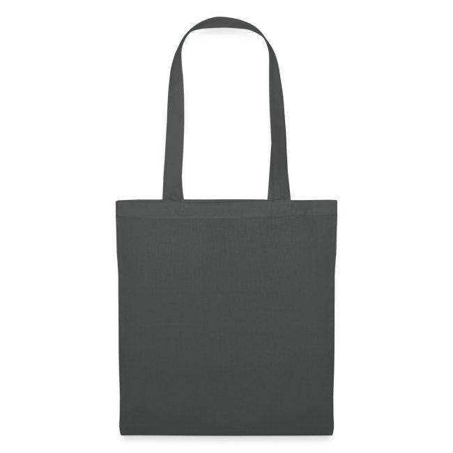 Graue Tasche mit schwarzem Kalk Post Classic in Flexdruck