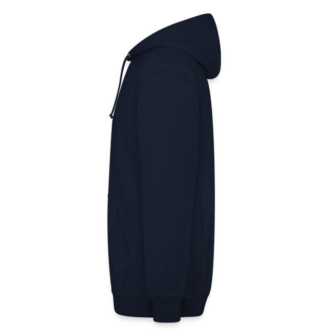 Blauer Hoodie mit gelbem Kalk Classic