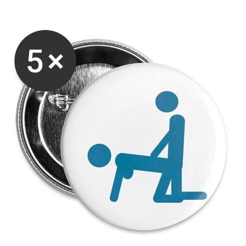 Ärmlös tröja dam - Små knappar 25 mm (5-pack)
