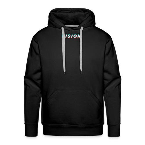 Vision Black Hoodie - Men's Premium Hoodie