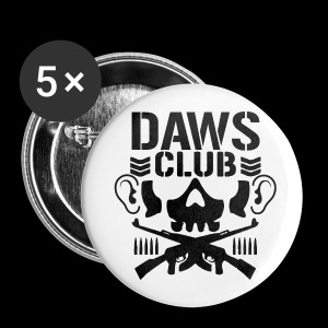 Daws Club Badges - Buttons large 56 mm