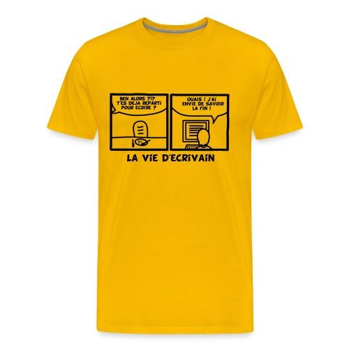 Une vie d'écrivain - T-shirt Premium Homme
