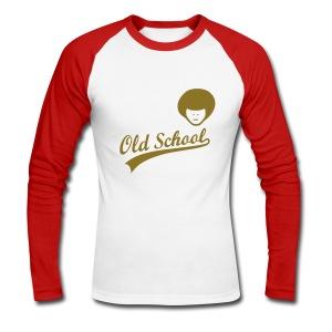 OLd School - Mannen baseballshirt lange mouw