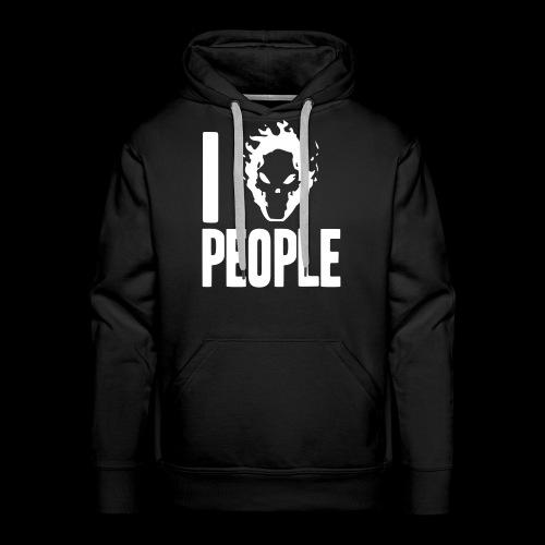 Ich hasse Menschen - Männer Premium Hoodie