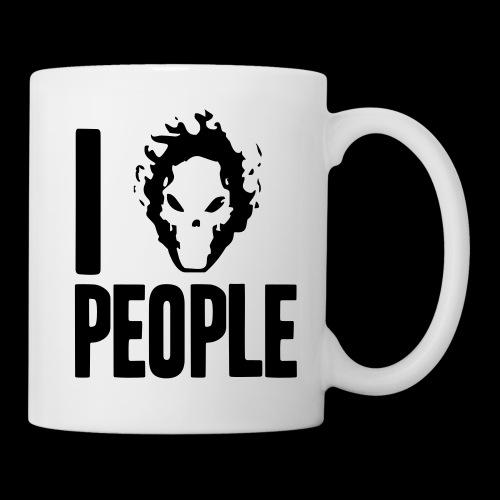 Ich hasse Menschen - Tasse