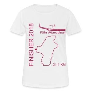 2018 Finisher HM magenta - Frauen T-Shirt atmungsaktiv
