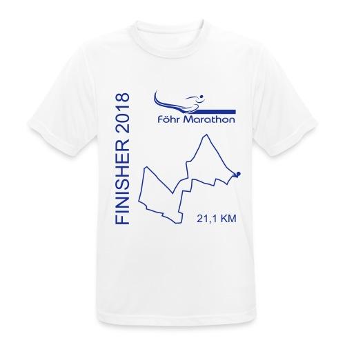 2018 Ziel LS-HM blau - Männer T-Shirt atmungsaktiv