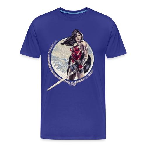 Bros  Schwert Und Schild - Männer Premium T-Shirt