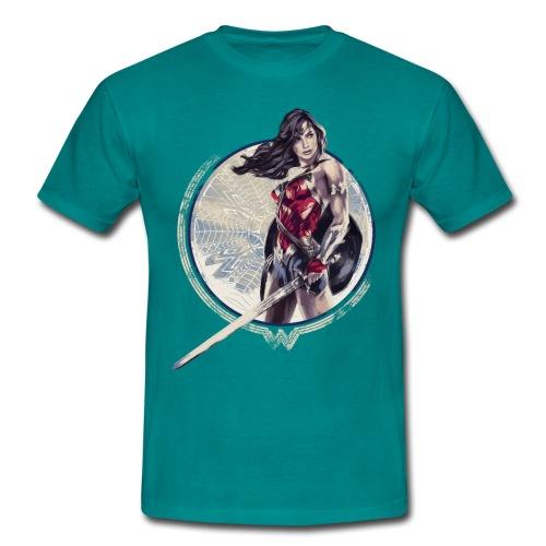 Bros  Schwert Und Schild - Männer T-Shirt