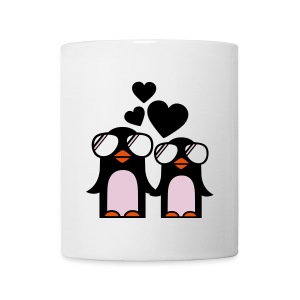 penguins love mug - Mug